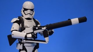 Bandai S.H. Figuarts Heavy Gunner Stormtrooper Star Wars The Force Awakens Review
