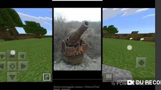 Cara Membuat Cannon Di Minecraft Pocket Edition/Minecraft Windows 10 Edition