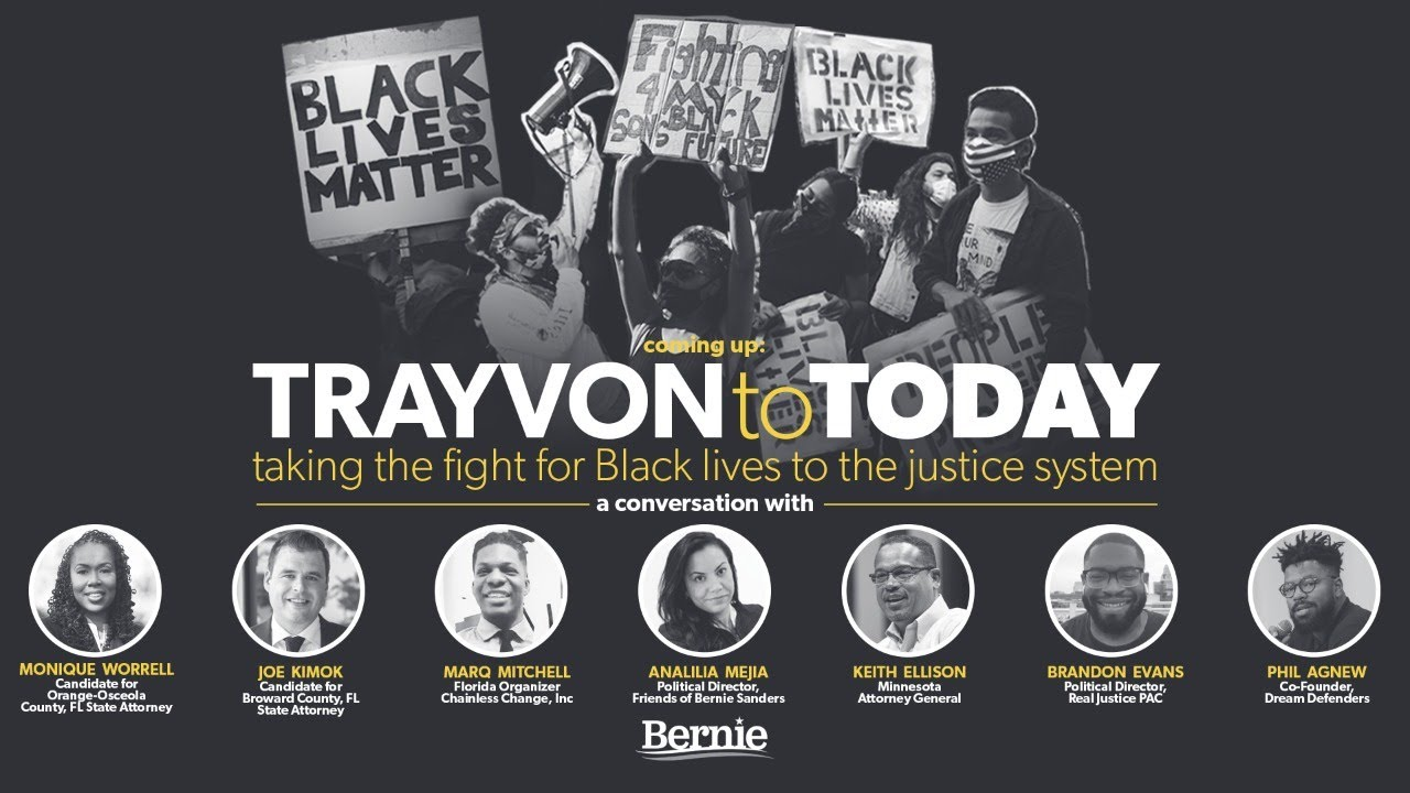 TRAYVON TO TODAY: TAKING THE FIGHT FOR BLACK LIVES TO THE JUSTICE SYSTEM (7PM ET)