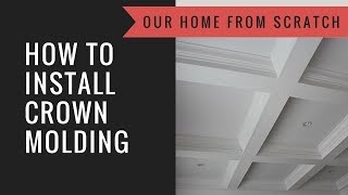 Diy Crown Molding Tips