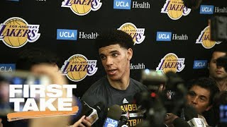 Stephen A. Smith Says Lakers Shouldn't Pass On Lonzo Ball | First Take | June 14, 2017