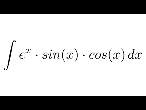 Integral Of (e^x)sin(x)cos(x) (by Parts)