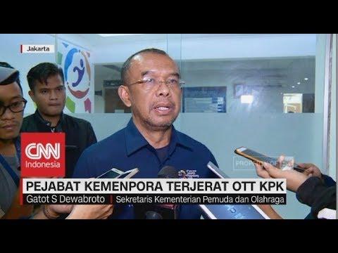 Pejabat Kemenpora Terjerat OTT KPK