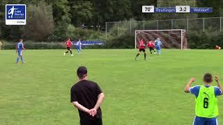 A-Junioren - 3:3 Lucca Wobbe - SSV Reutlingen 05 vs FC Astoria Walldorf