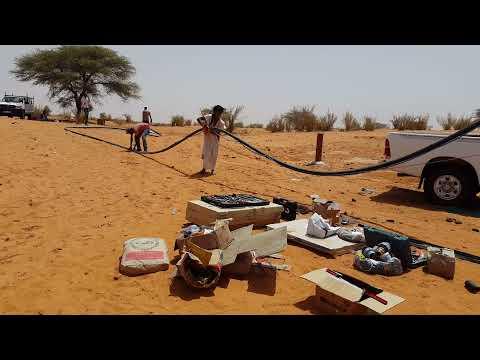 SOLAR23, Mauritania SOLAR PUMPING Installation 1