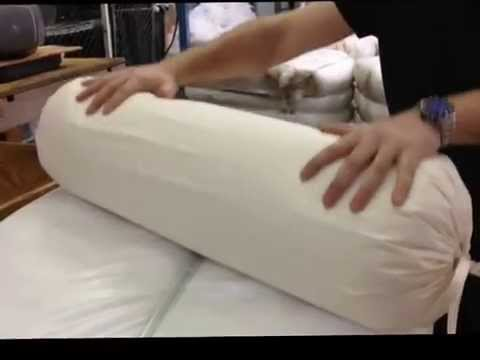 Hometex Yoga Bolster Cover And Insert Youtube