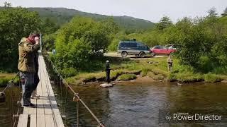 Магадан.Первая рыбалка на реке Дукча в этом году. Горбуша идёт