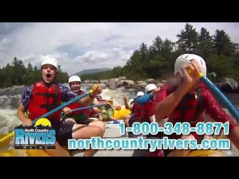 Group Adventure Travel: Maine Whitewater Rafting