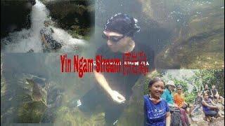 Yin Ngam Stream (燕岩溪).   Hong Kong Waterfall