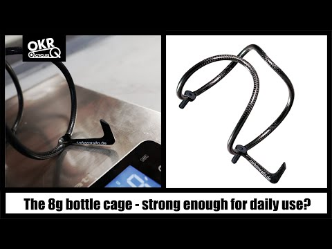 CarbonWorks bottle cage review - can 8g hold your full water bottle?
