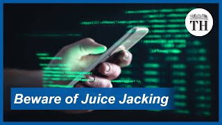 What is juice jacking and how can it be avoided?