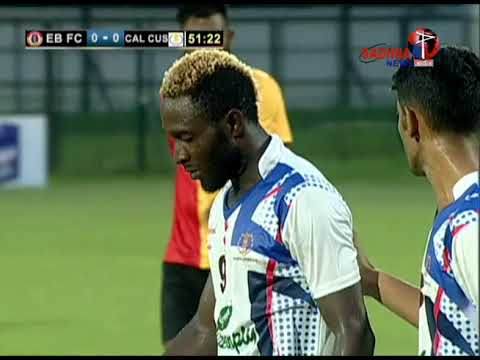 100818 CFL EAST BENGAL FC vs CALCUTTA CUSTOMS MATCH 2ND HALF