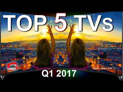 Top 5 Best TVs 2017 - Ultra HD 4K, HDR, 1080p Screen's
