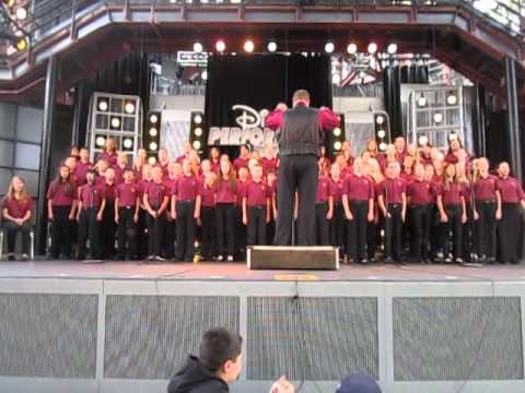 Livermore Valley Charter School Choir - Performing Arts 2014 Disney California Adventure