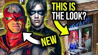 Titans REAL STARFIRE Costume REVEALED at Comic-Con? Plus NEW Look at HAWK!