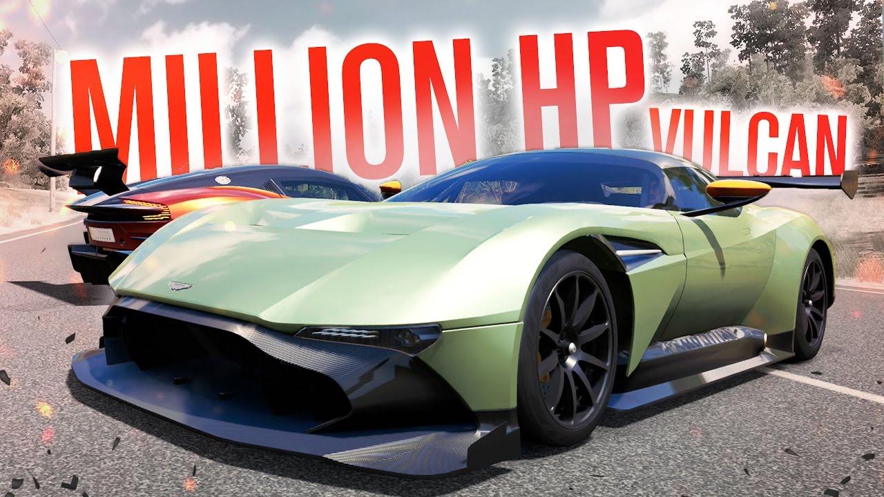 Million Hp Aston Martin Vulcan Forza Horizon 3 W The Nobeds Youtube