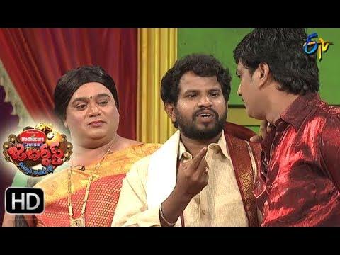 Hyper  Aadi Raijing Raju Performance | Jabardsth | 3rd August 2017| ETV  Telugu