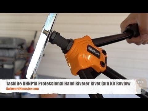 Tacklife HHNP1A Professional Hand Riveter Rivet Gun Kit Review