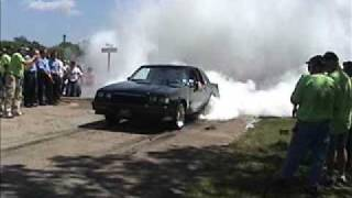 Buick Grand National Burnout Fire