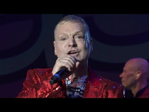 "Erasure ""Atomic"" Blondie Cover, Philharmonic, Liverpool."