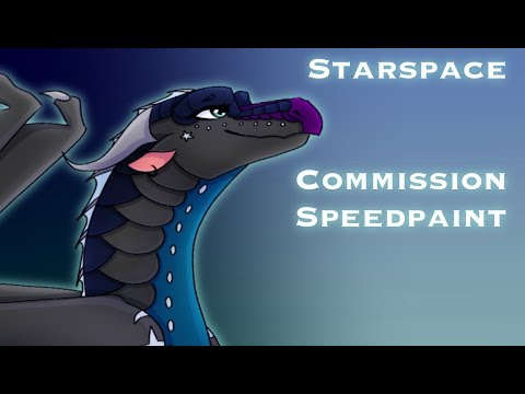 Starspace, Wings of Fire Speedpaint Commission