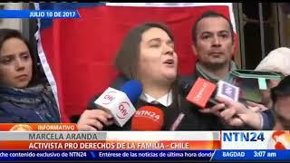 Hijo de activista chilena contra los derechos LGBTI comenzó trámites legales para cambiar de sexo