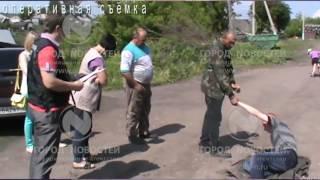 Новокузнечанин отрубил жене голову