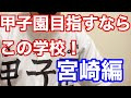 『甲子園目指すならこの学校!』宮崎編 日南学園、富島、小林西、聖心ウルスラ学園