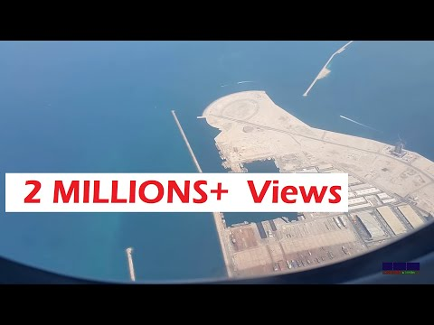 Landing at Dubai International Airport