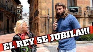 EL REY JUAN CARLOS SE JUBILA