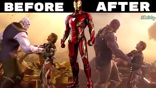 Avengers: Infinity War VFX Breakdown - Before and After Visual Effects - 2018