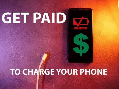 Get Paid To Charge Your Phone With GiftLoop