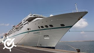 MS Amadea: Live-Rundgang über das Traumschiff