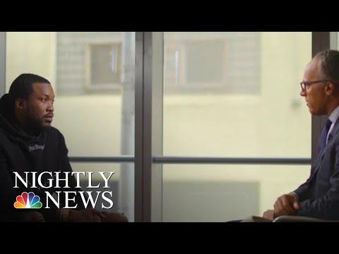 Meek Mill Talks New Criminal Justice Reform Organization | NBC Nightly News