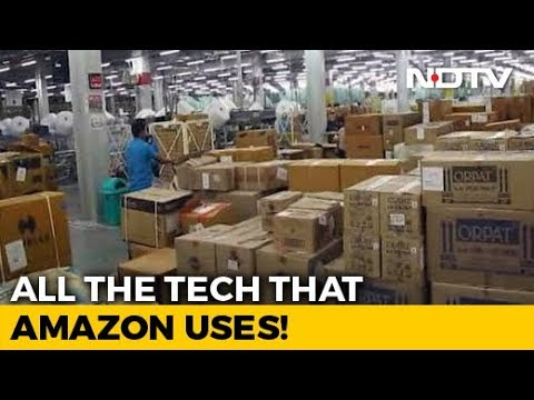 Behind The Scenes At An Amazon Fulfillment Centre