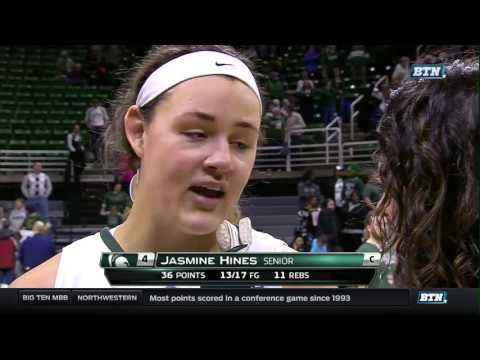 Ohio State at Michigan State - Women's Basketball Highlights