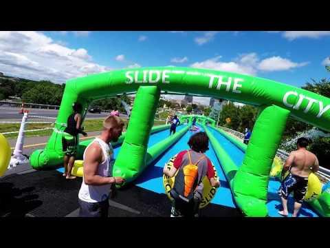 Slide The city Greensboro North Carolina