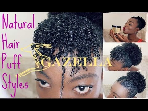 youtube natural hair style hair puff styles using gazella amp giveaway 7008 | hqdefault
