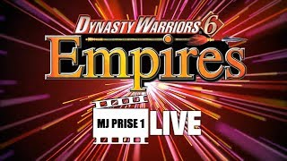 Dynasty Warriors 6 Empires - MJ Prise 1 LIVE (avec L