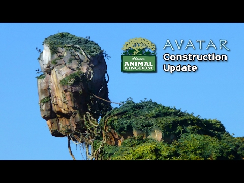 Disney's Animal Kingdom Update - Avatar Land Construction, Kali River Rapids Refurb, Monkeys & More
