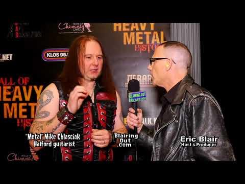 """Halford's """"Metal"""" Mike Chlasciak & Eric Blair talk Halford 2018"""