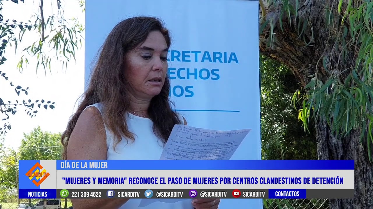 Colocan placas de reconocimiento en el Ex Centro Clandestino de Detención de Arana