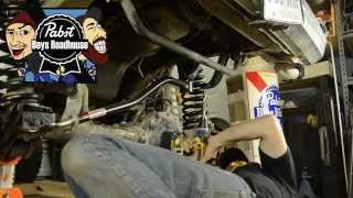 Pabst Boys - JCR Over The Knuckle Steering Install