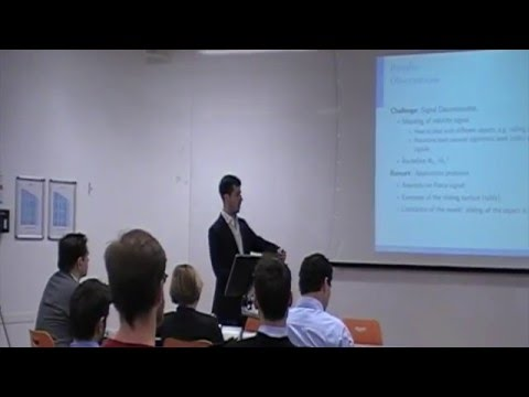 Master Thesis Project: Public Presentation