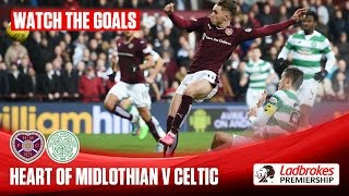 Goals! Stunning strikes as Hearts hold Celtic