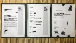 Bewerbungsmappe: einsortieren, Reihenfolge 3-teilig mit Deckblatt [Tutorial, richtig anordnen]