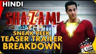 SHAZAM! | Sneak Peek | Teaser Trailer Breakdown [Explained In Hindi]