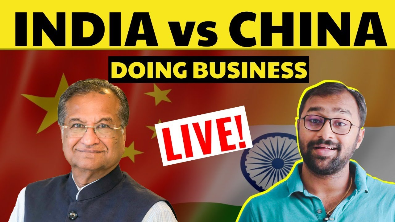 Ease of Starting and Doing Business 🇮🇳India Vs 🇨🇳China | My real  Experience