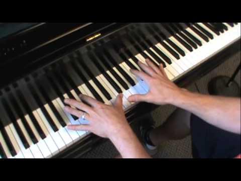 E flat Major Scale Fingering, piano