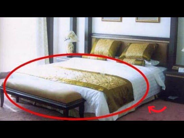 Tại sao khách sạn nào cũng trải 1 mảnh vải ngang giường? Mục đích đằng sau không phải ai cũng biết